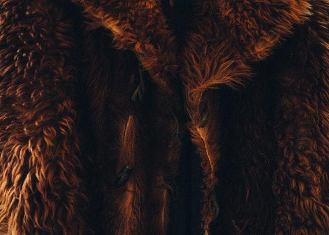 Fur winter coat