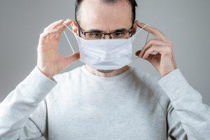sanitizing face masks
